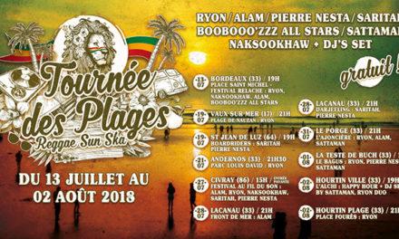 Reggae Sun Ska 2018 : la Tournée des Plages !