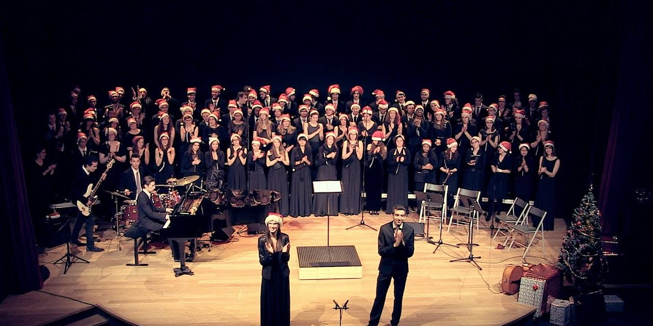 VIDEO : Concert de Noël du Grand Choeur (Université Jean-Monnet, Saint-Etienne)