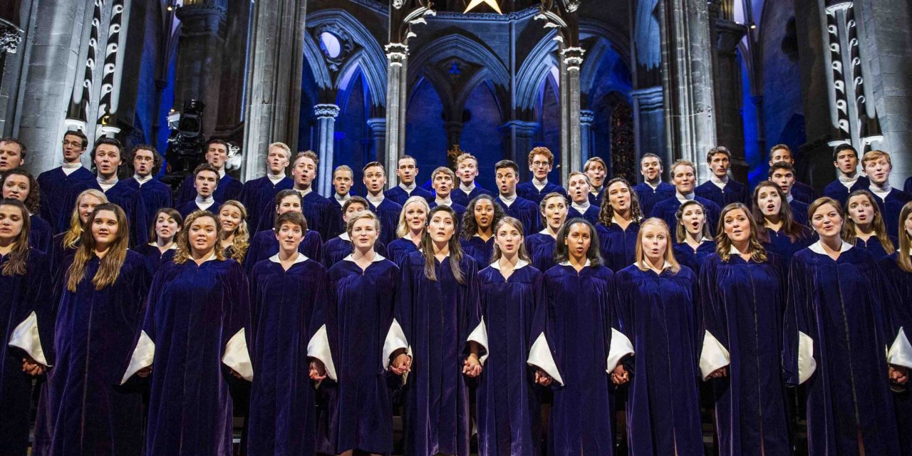 VIDEO : Christmas in Norway with the St. Olaf Choir