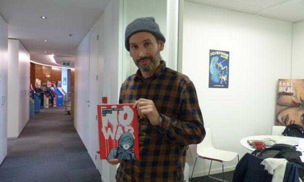 PODCAST : No War #1 , la nouvelle BD d'Anthony Pastor