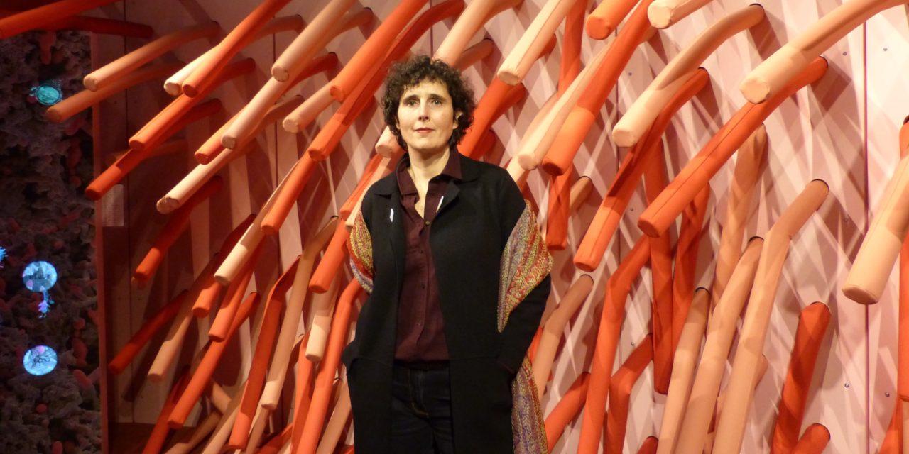 PODCAST : Dorothée Vatinel,Commissaire de l'exposition «Microbiote»