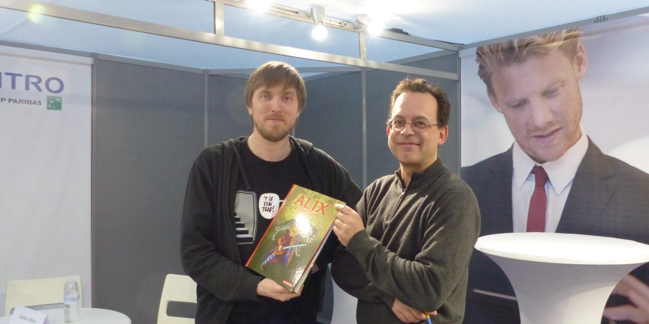 PODCAST : Marc Bourgne et Laurent Libessart , createurs d'Alix Origines : L'Enfance d'un Gaulois