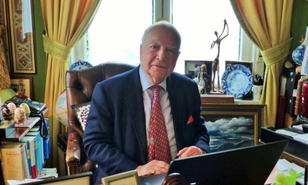 PODCAST : Mark Eyskens,l'ex Premier Ministre Belge nous invite a nous poser les bonnes questions