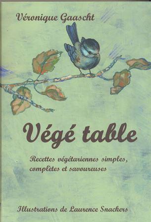 PODCAST : VEGETABLE , le livre de recettes végétariennes de Véronique Gaascht