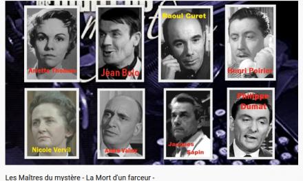 Théatre Radiophonique : Les Maîtres du mystère – La Mort d'un farceur