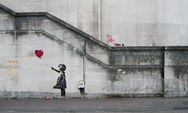 Banksy et le monde de l'art : au milieu et nulle part