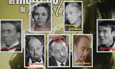 THEATRE RADIOPHONIQUE : Les Maîtres du mystère – L'Agent d'assurances