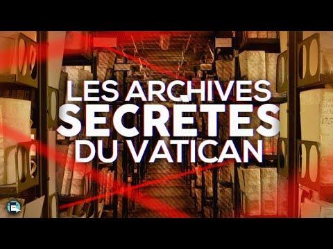 VIDEO : Les archives secrètes du Vatican